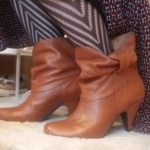 Steve Madden leather Booties - 8